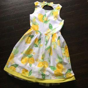 EUC Gymboree 🍋 lemon dress